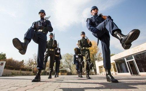 Anıtkabir'in heykel askerleri