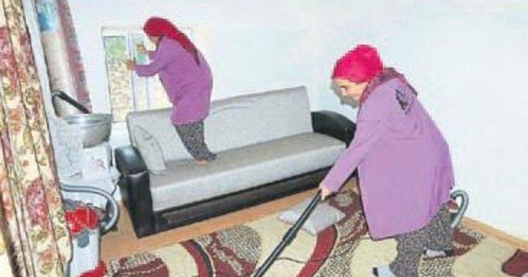 İhtiyaç sahiplerine temizlik hizmeti