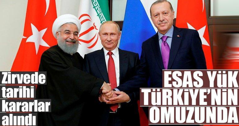 Suriye'de barış için Soçi mutabakatı