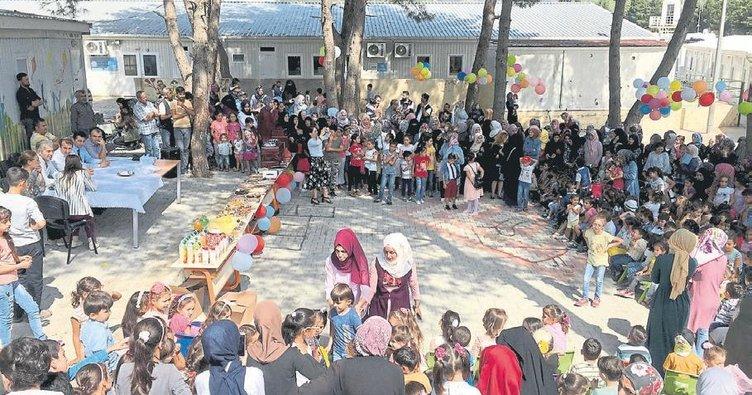 Suriyeli çocuklar eğitim öğretim yılına hazır
