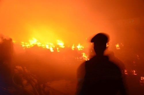 Dünyadan günün fotoğrafları (17 Ekim 2012)