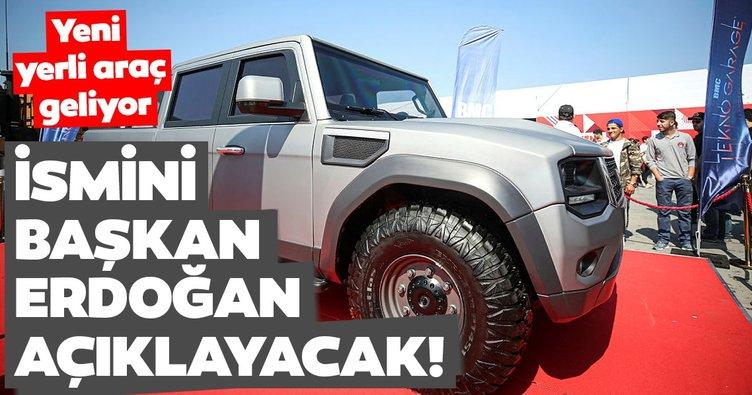 Yeni yerli araç geliyor! İsmini Başkan Erdoğan açıklayacak