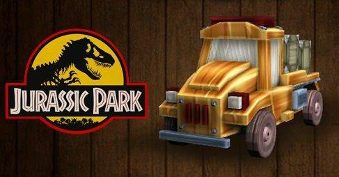 Jurassic Araba Park Etme