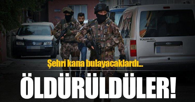Van'da terör operasyonu: Öldürüldüler!