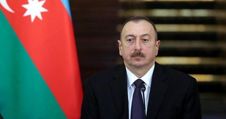 Aliyev'den Erdoğan'a taziye mesajı