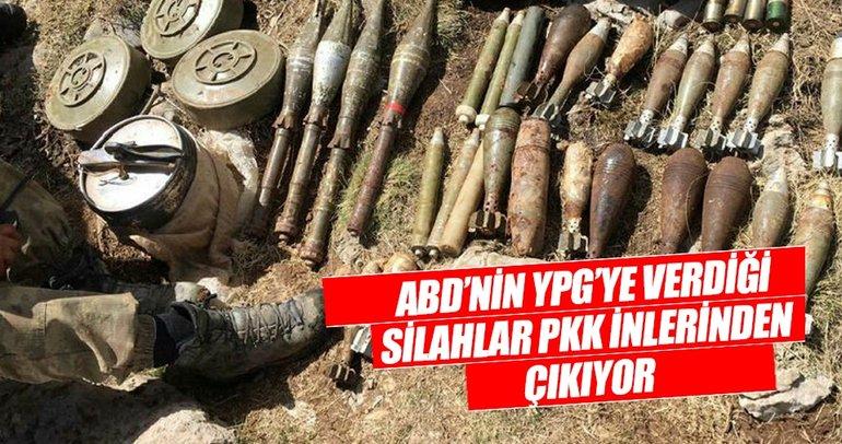 ABD'nin silahları PKK ininden çıktı