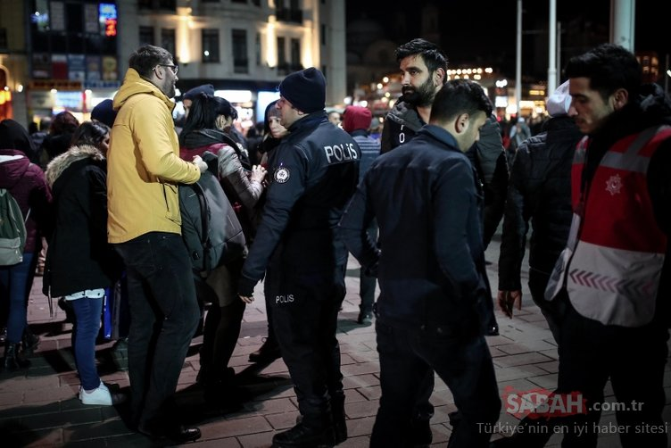 İstanbul'da yılbaşı gecesi 89 bin 140 kişi GBT'den geçti