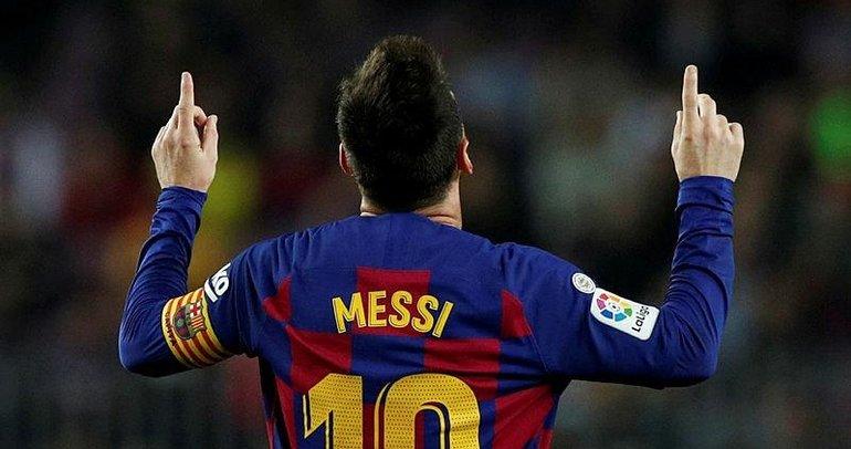 Lionel Messi yıldızlaştı; Barcelona, Valladolid'i farklı yendi