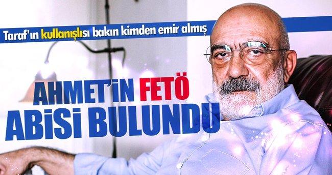 Ahmet Altan'ın FETÖ'deki 'abisi' Alaaddin Kaya çıktı