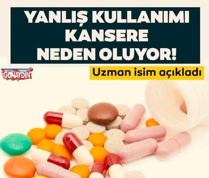 Fazla vitamin kullanımı kansere bile neden olabilir!