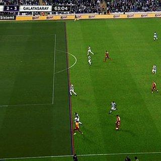 Bursaspor - Galatasaray maçında...