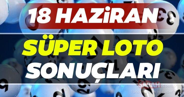Süper Loto sonuçları belli oldu! Milli Piyango 18 Haziran Süper Loto çekiliş sonuçları MPİ ile hızlı bilet sorgulama BURADA