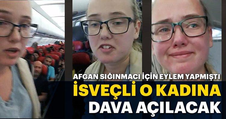 İsveçli o kadına dava açılacak