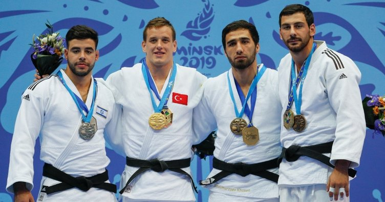 İlk altın madalya Judo'dan
