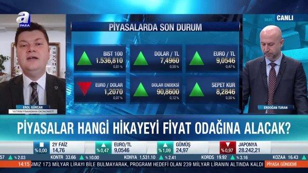 Erol Gürcan: Mayıs ayında dezenflasyon süreci başlar