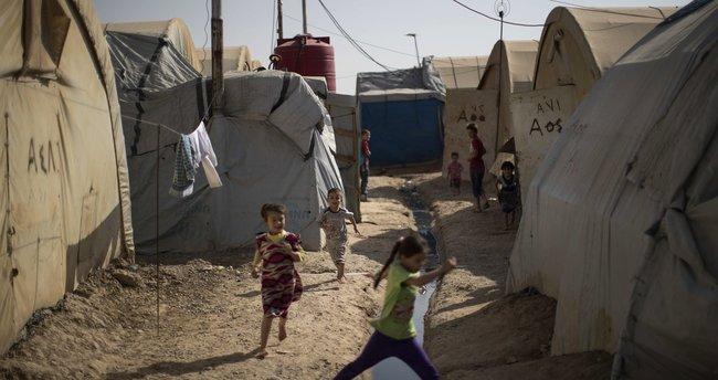 Kerkük'teki çadır kamp yangınında 4 kişi hayatını kaybetti
