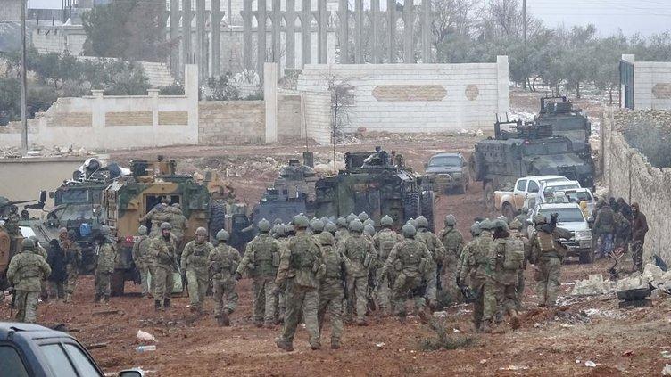 Türk ordusunun El Bab'daki ilerleyişi dakika dakika görüntülendi