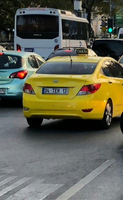 Tacizci taksicinin her anı görüntülendi