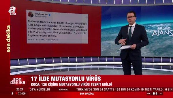 Son dakika haberi: Sağlık Bakanı Koca'dan Koronavirüs mutasyonu açıklaması! Mutasyonlu koronavirüs hangi illerde görüldü?| Video