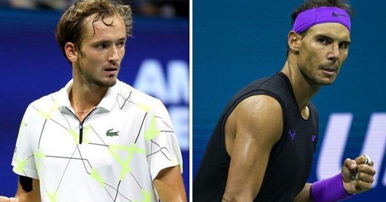 Rafael Nadal, ABD Açık Tenis Turnuvası erkekler finalinde Daniil Medvedev'i yenerek şampiyon oldu!