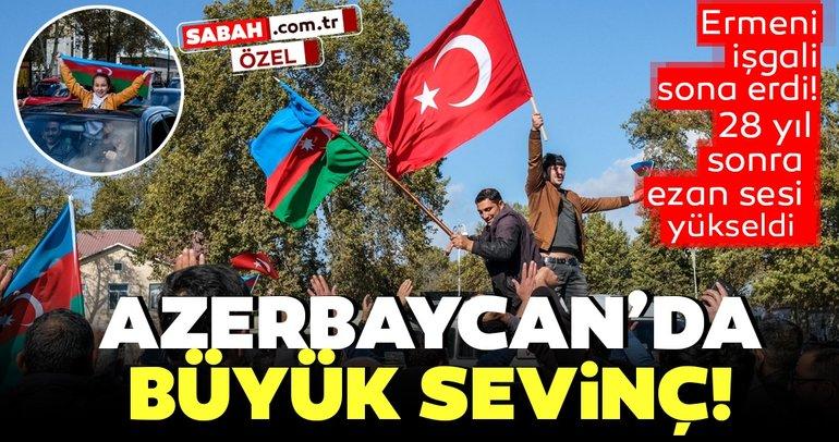 Son dakika haberi: Azerbaycan'da büyük sevinç! Şuşa 28 yıl sonra Ermenistan işgalinden kurtarıldı!