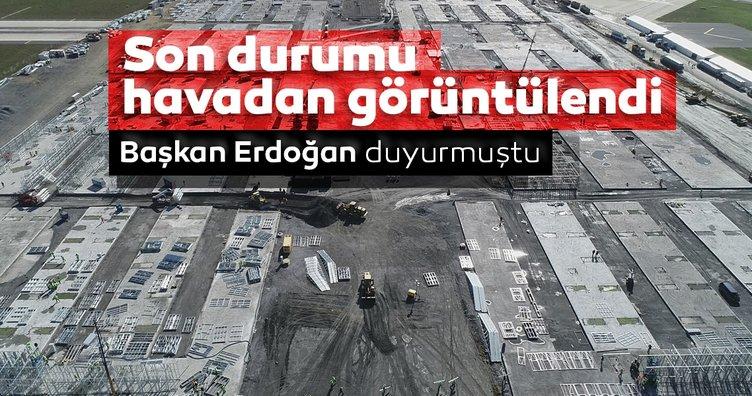 SON DAKİKA: Başkan Erdoğan duyurmuştu! Coronavirüsü için inşasına başlandı