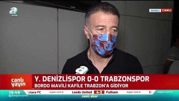 Trabzonspor Başkanı Ahmet Ağaoğlu: Gerekli açıklamayı yapacağız