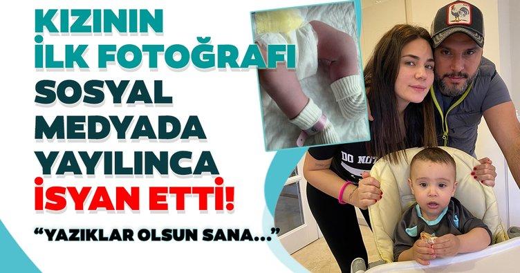Alişan ve Buse Varol'un kızları Eliz'in ilk fotoğrafı ortaya çıktı! Alişan isyan etti: Yazıklar olsun sana...