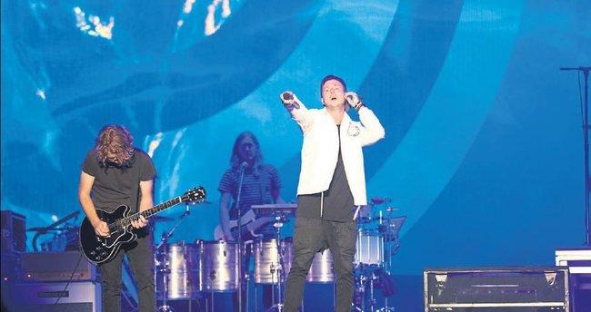 OneRepublic, gençleri coşturdu