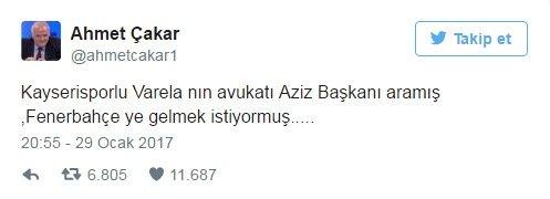 Kayserispor-Fenerbahçe maçı Twitter'ı salladı