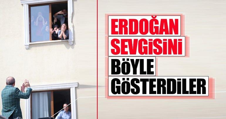 Cumhurbaşkanı Erdoğan'ın İstanbul programından renkli kareler
