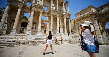 Efes Antik Kenti'ne Kovid-19 nedeniyle 650 ziyaretçi kotası