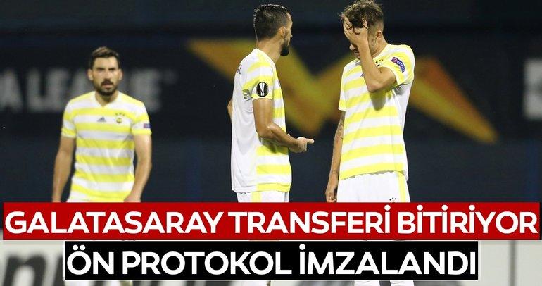 Galatasaray'da son dakika transfer gelişmesi! Fenerbahçeli oyuncuyla ön protokol imzalandı