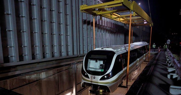 Hacıosman-Yenikapı metrosunda sürücüsüz araçlar raylarda
