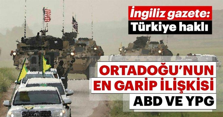 İngiliz gazetesi: Erdoğan YPG konusunda haklı