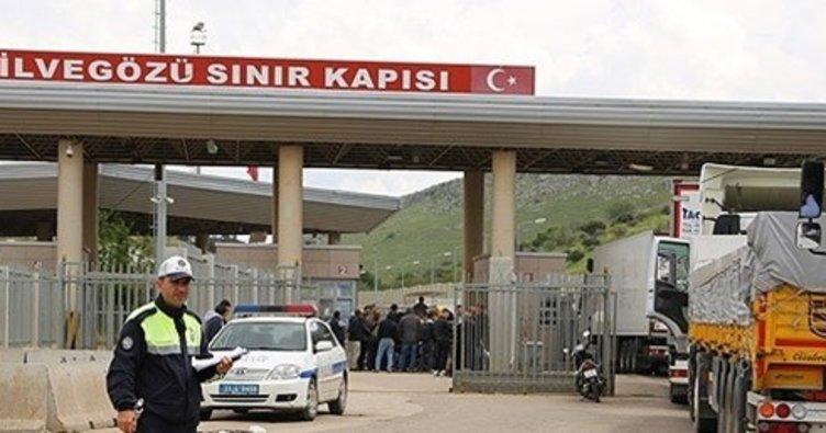 Son dakika: Cilvegözü sınır kapısında geçişlere sınırlama getirildi