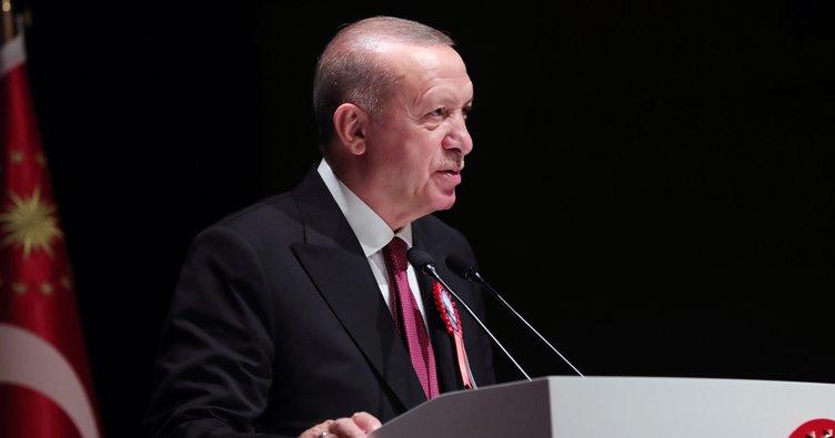 Son dakika: Başkan Erdoğan tarihi KKTC ziyaretinde müjdeyi açıkladı! Dünyaya çok net mesaj...