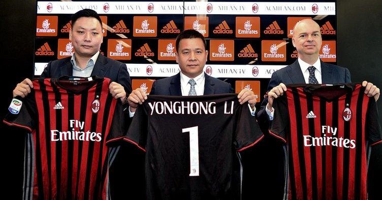AC Milan'ın sahibi Çinli iş adamı iflas etti!