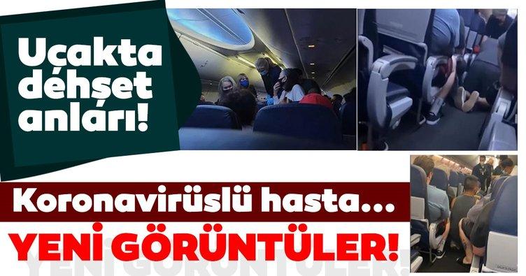 Son dakika haberi: Uçakta corona virüsten hayatını kaybetti: Görüntüleri ortaya çıktı