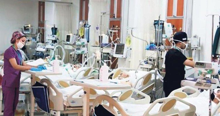 Sağlık çalışanlarına destek sürüyor