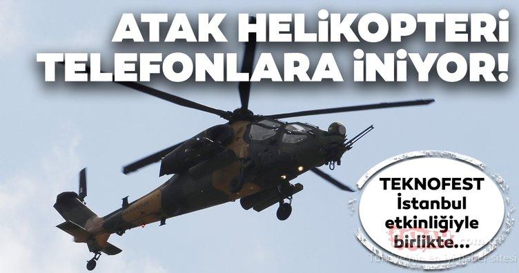 Atak helikopteri telefonlara iniyor