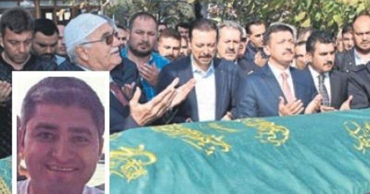 Türkmen'in oğlu ebediyete uğurlandı