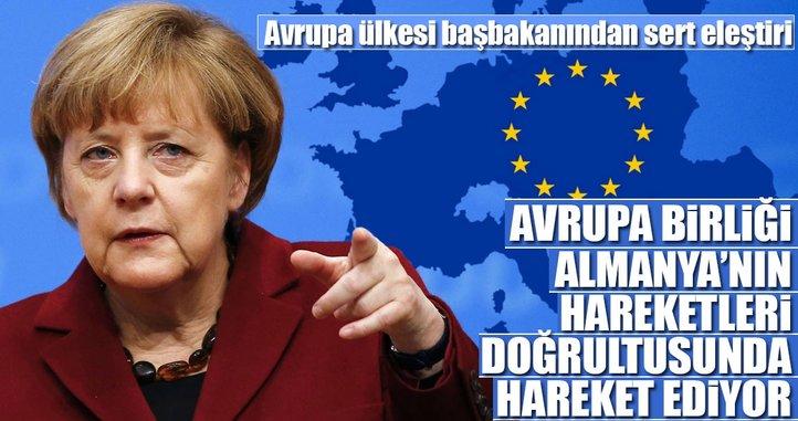 Çipras'tan AB'ye sert Almanya eleştirisi
