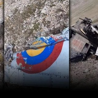 Son dakika: 2 Ermenistan uçağı dağa çarparak düştü! A Haber o anları saniye saniye görüntüledi...