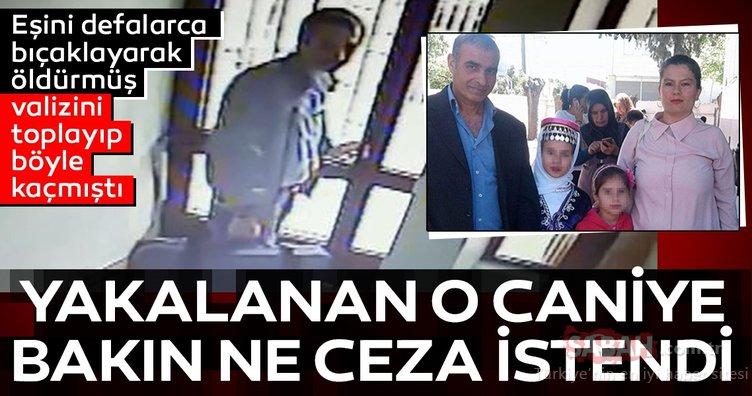 Kadıköy'de eşini bıçaklayarak öldüren kocaya istenen ceza belli oldu