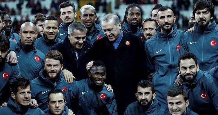 Başkan Erdoğan: Şenol Hoca'nın başarılı olacağından şüphem yok