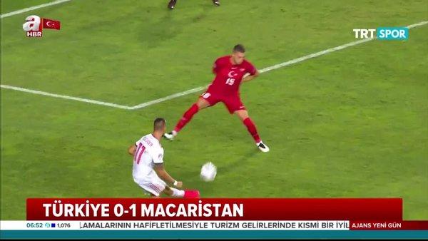 Türkiye 0 - 1 Macaristan | Maç Özeti | tartışmalı pozisyonlar izle | Video