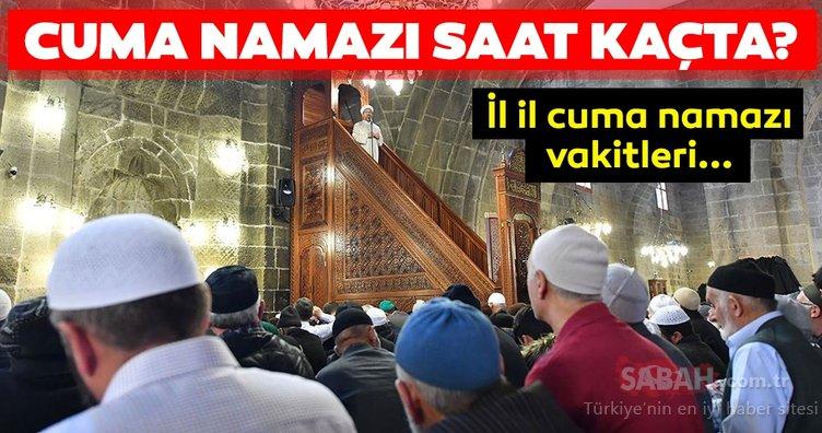 Cuma namazı bugün saat kaçta kılınacak? 13 Eylül İstanbul, Ankara ve il il Cuma namazı saatleri burada!