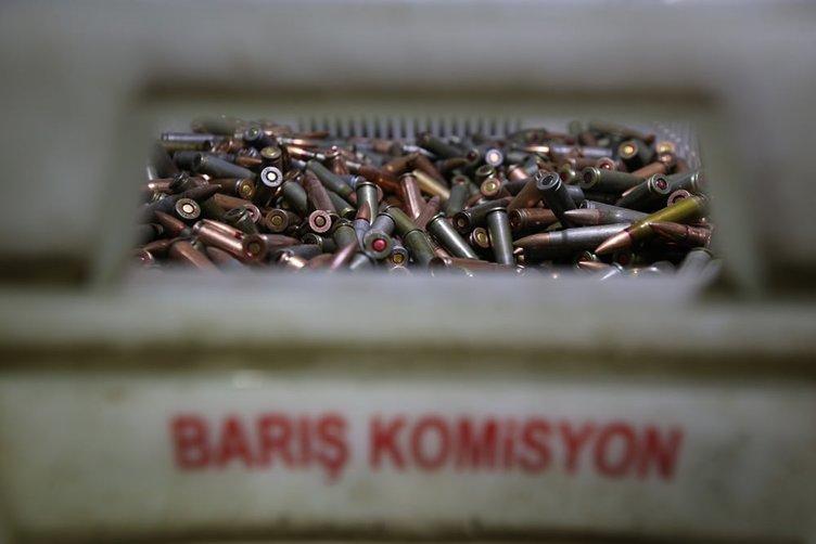 PKK'nın silah bakım atölyesine baskın yapıldı!