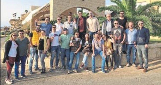 ANTGİAD üyeleri Beyrut'u gezdi